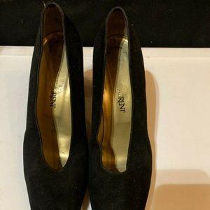 Authentic YSL Heel Shoes Pumps Black Size 9.5